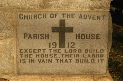 Church of the Advent Marker image. Click for full size.