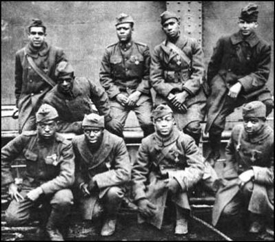 Members of the 369th Infantry image. Click for full size.