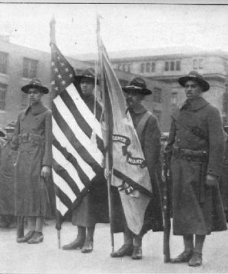 Color Guard Bearers of the 15th N.Y. image. Click for full size.