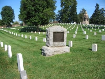 Seventh Ohio Regiment Monument image. Click for full size.
