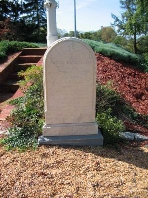 Grave of Lt. Col. James Savage image. Click for full size.