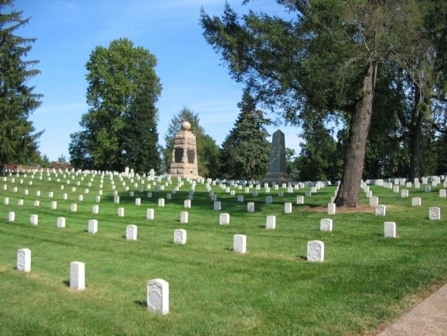Culpeper National Cemetery image. Click for full size.