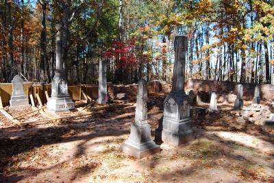 Gist Cemetery - Interior image. Click for full size.