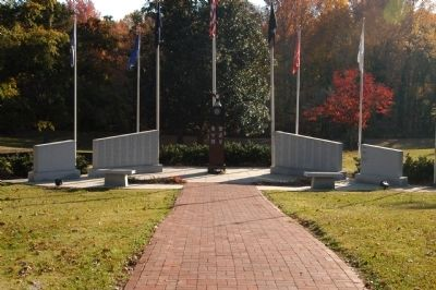 Spartanburg County War Memorial Marker image. Click for full size.
