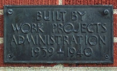 Earlier Township Public Service Building Marker image. Click for full size.