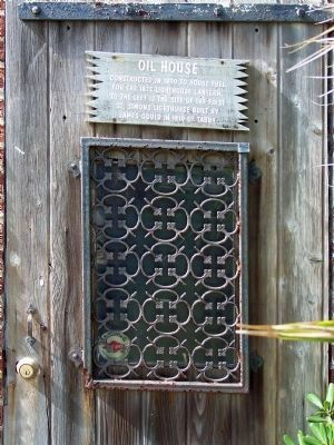 Oil House Door image. Click for full size.
