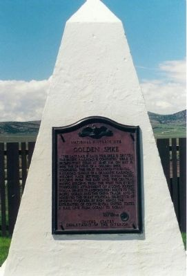 Golden Spike Marker image. Click for full size.