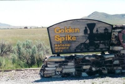 Golden Spike National Site image. Click for full size.