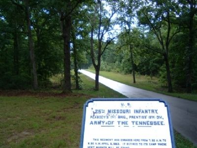 25th Missouri Infantry Marker image. Click for full size.