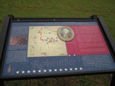 General Wayne's Encampment Marker image. Click for full size.
