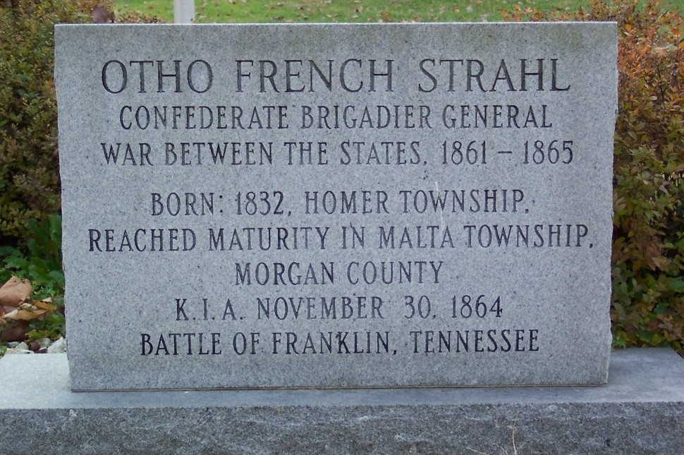 Otho French Strahl Marker (front)
