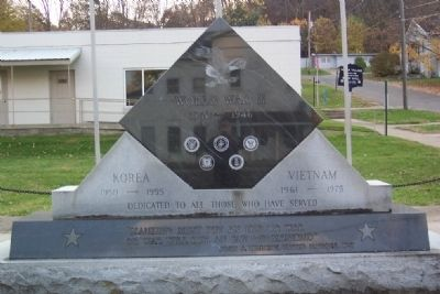Malta Veterans Memorial image. Click for full size.