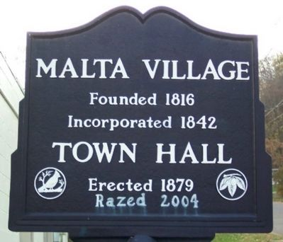 Malta Town Hall Marker image. Click for full size.