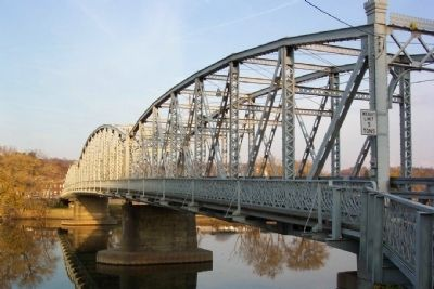 Morgan County Veterans' Memorial Bridge image. Click for full size.