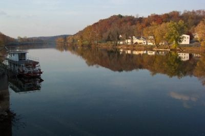 View from Morgan County Veterans' Memorial Bridge image. Click for full size.