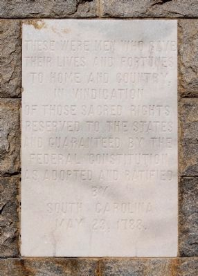 Union County Confederate Monument - South Side image. Click for full size.