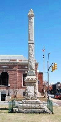 Union County<br>Confederate Monument<br>(West) image. Click for full size.