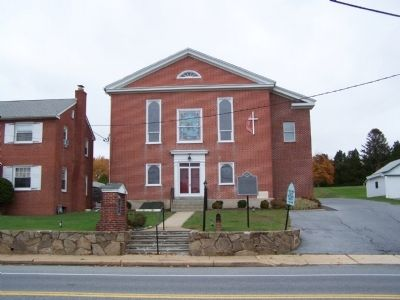 Christiana United Methodist Church image. Click for full size.