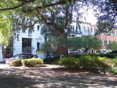Ancient and Accepted Scottish Rite of Freemansonry Marker at Madison Square, in Savannah image. Click for full size.