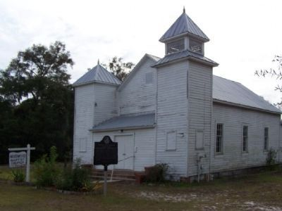 Needwood Baptist Church , along US17 image. Click for full size.