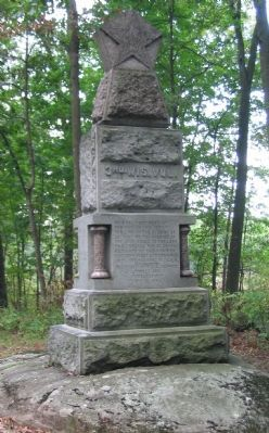 3rd Wisconsin Volunteer Infantry Monument image. Click for full size.