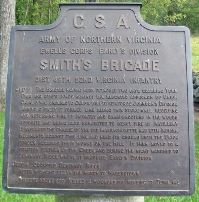 Smith's Brigade Tablet image. Click for full size.