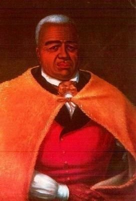 His Majesty Kamehameha I, King of the Hawaiian Islands image. Click for full size.