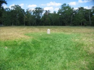 Location of the Position Marker in Spangler's Meadow image. Click for full size.