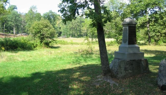 27th Indiana Infantry Monument image. Click for full size.