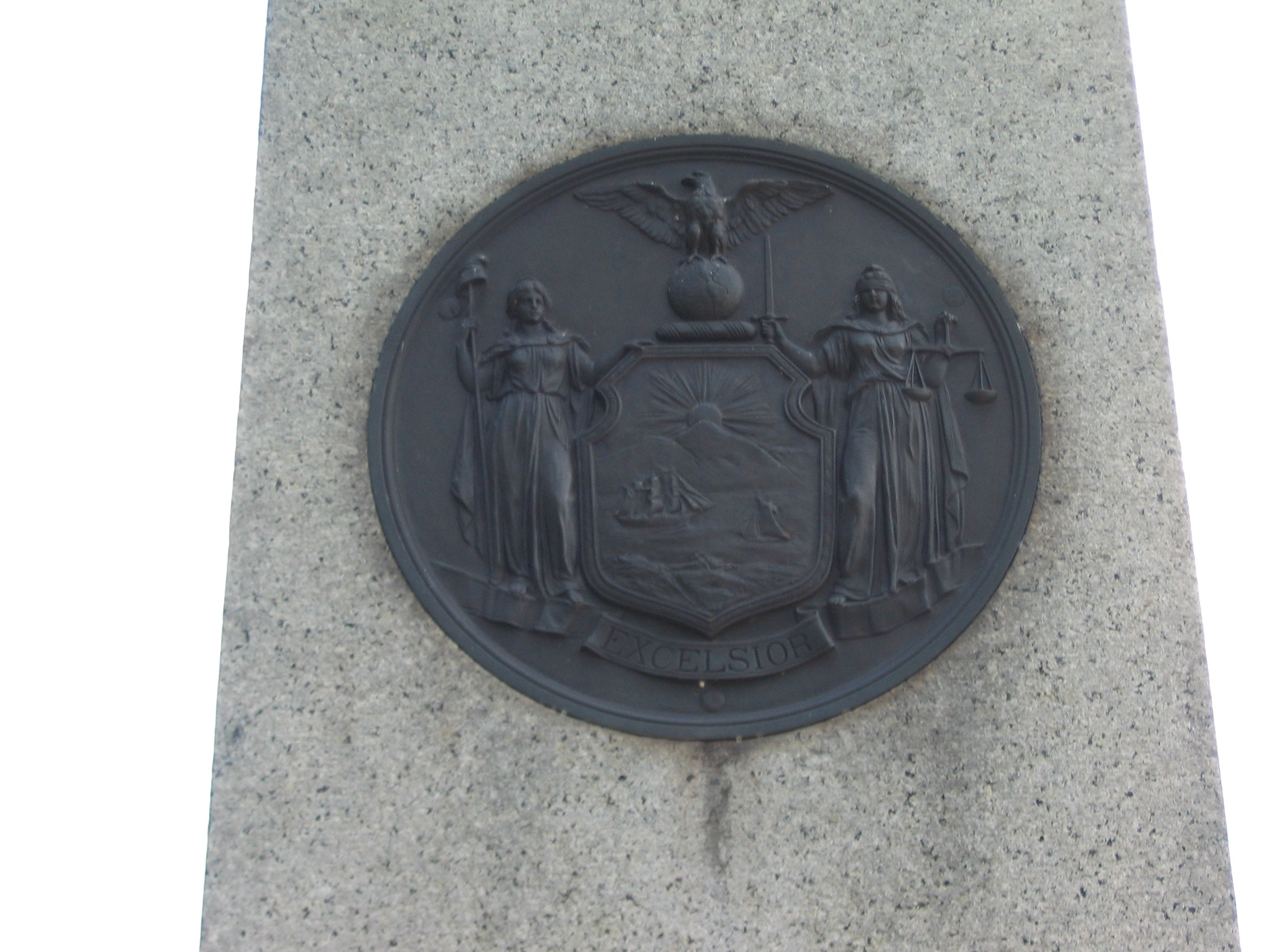 State Seal on the Monument