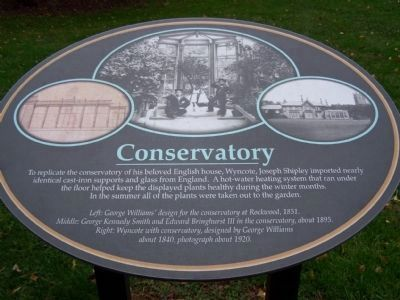 Conservatory Descriptive Marker image. Click for full size.