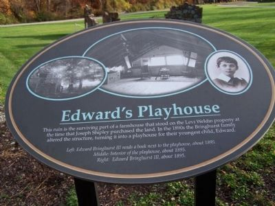 Edward's Playhouse Descriptive Marker image. Click for full size.