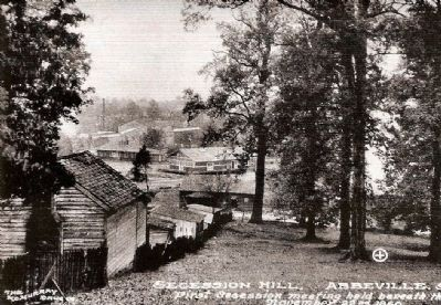 Secession Hill Postcard image. Click for full size.