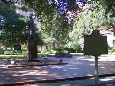 John Wesley Marker, and Statue image. Click for full size.