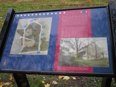 """The Land on Which the Battle of Paoli was Fought"" Marker image. Click for full size."