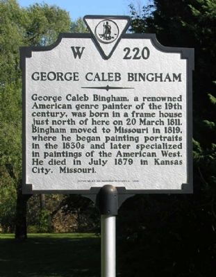 George Caleb Bingham Marker image. Click for full size.