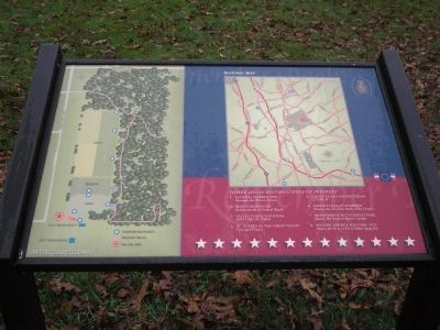 Battlefield Site Map Marker image. Click for full size.