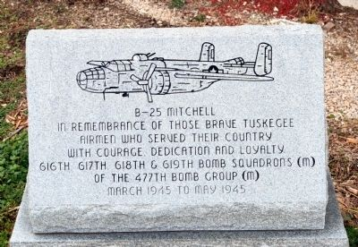 B-25 Mitchell Marker image. Click for full size.