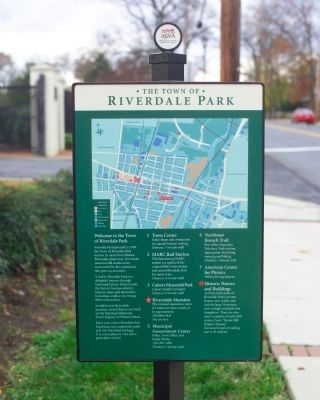 Riverdale Park Marker image. Click for full size.