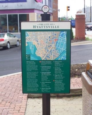The City of Hyattsville Marker image. Click for full size.