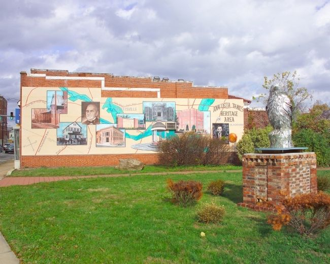 Anacostia Trails Heritage Area Mural image. Click for full size.