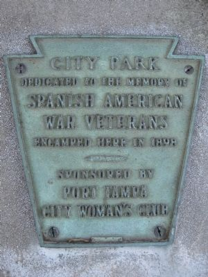 Undated plaque near Marker image. Click for full size.