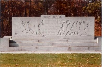 Arkansas Monument image. Click for full size.