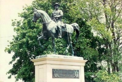 Major Gen. John Reynolds Monument in Earlier Times image. Click for full size.
