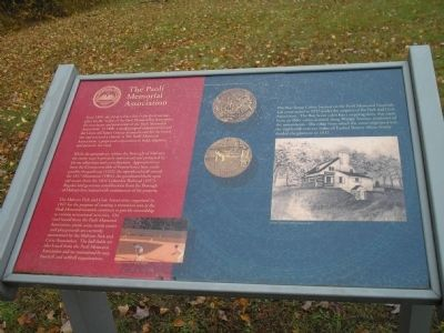 The Paoli Memorial Association Marker image. Click for full size.