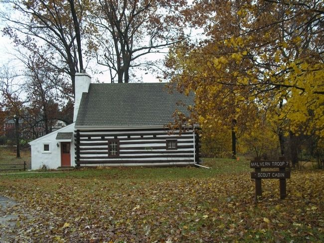 Boy Scout Cabin on Paoli Grounds image. Click for full size.