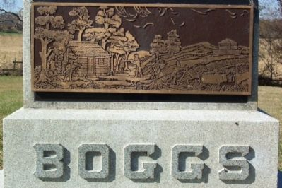 John Boggs Memorial Engraving image. Click for full size.
