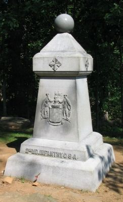 1st Maryland Infantry Monument image. Click for full size.
