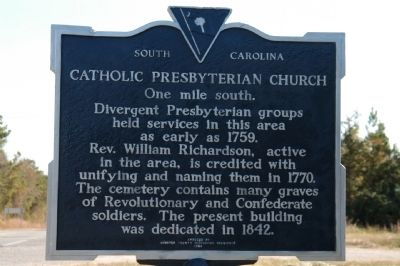 Catholic Presbyterian Church Marker image. Click for full size.
