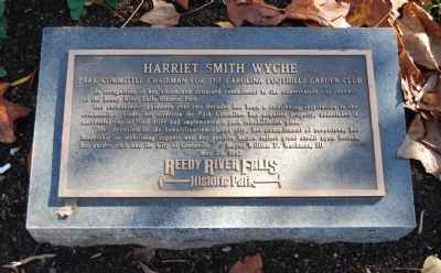 Harriet Smith Wyche Marker image. Click for full size.